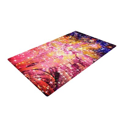 Ebi Emporium Out There Pink/Yellow Area Rug Rug Size: 2 x 3