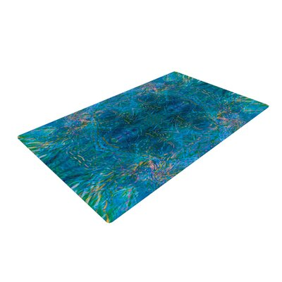 Nikposium Clearwater Blue Area Rug Rug Size: 4 x 6