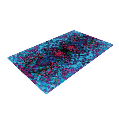 Nikposium Boysenberry Blue/Purple Area Rug Rug Size: 4 x 6