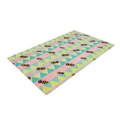 Louise Machado Little Bee Chevron Pastel Area Rug Rug Size: 4 x 6