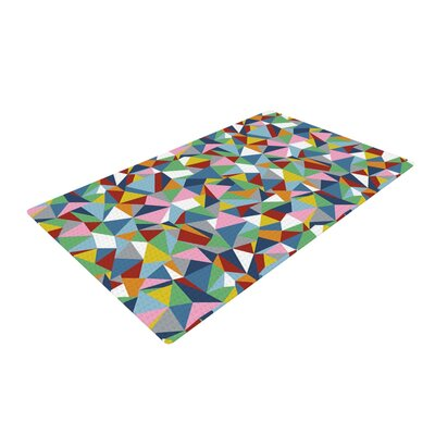 Project M Abstraction Rainbow Area Rug
