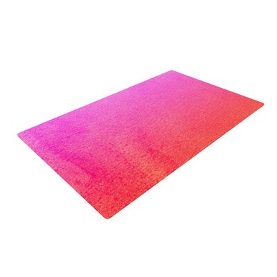 Monika Strigel Fruit Punch Magenta/Orange Area Rug Rug Size: 4 x 6