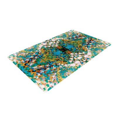 Nikposium Summer Breeze Blue/Green Area Rug Rug Size: 4 x 6