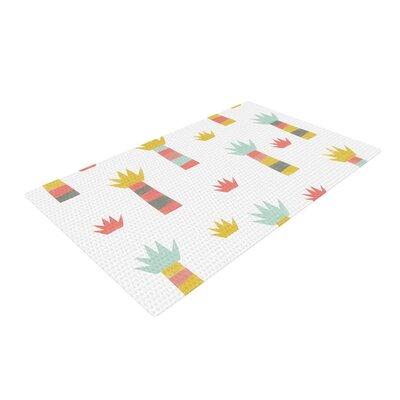 Alik Arzoumanian Tropical White/Pastel Area Rug