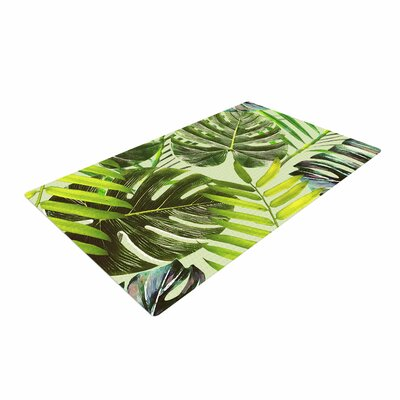 Alison Coxon Jungle Green Green/Yellow Area Rug