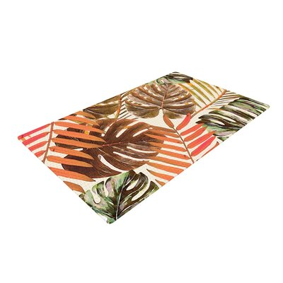 Alison Coxon Jungle Rust Orange/Brown Area Rug Rug Size: 2 x 3