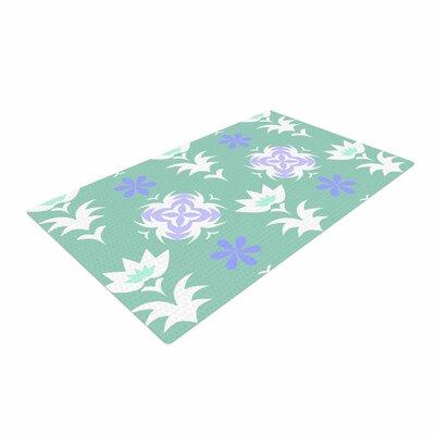 Alison Coxon Edwardian Tile Blue/White Area Rug Rug Size: 2 x 3
