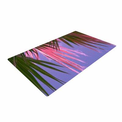 Ann Barnes Neon Jungle Purple/Green Area Rug