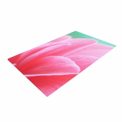 Alison Coxon Camellia Pink/Greeen Area Rug