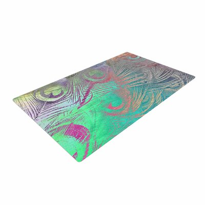 Alison Coxon Indian Summer Abstract Purple/Teal Area Rug