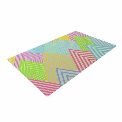 Angelo Cerantola Pastel Mountains Multicolor Area Rug
