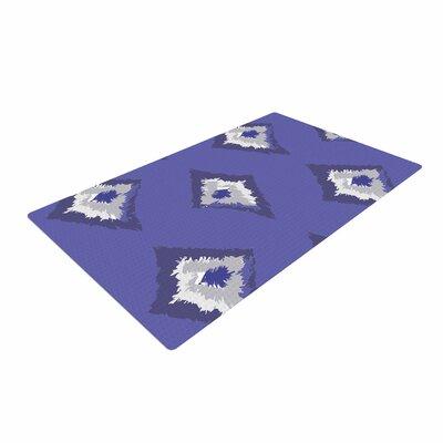 Alison Coxon Denim Ikat Blue/Gray Area Rug