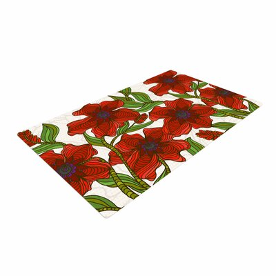 Art Love Passion Poppy Field Red/Beige Area Rug