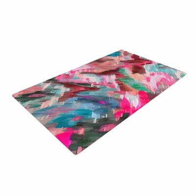 Alison Coxon Giverny Pink Teal/Peach Area Rug