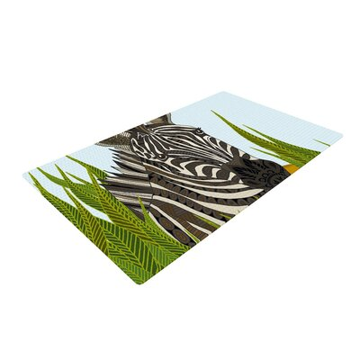 Art Love Passion Zebra Black/White Area Rug Rug Size: 2 x 3