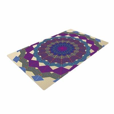 Angelo Cerantola Composition Lavender/Beige Area Rug Rug Size: 4 x 6
