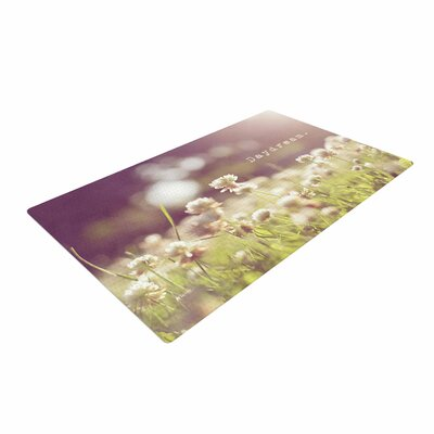 Angie Turner Daydream Floral Green Area Rug Rug Size: 4 x 6