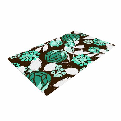 Amy Reber Bold Relief Green/Brown Area Rug