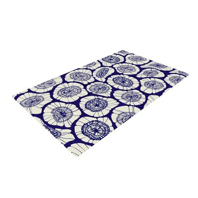 Anchobee Bahar Blue/Tan Area Rug Rug Size: 2 x 3