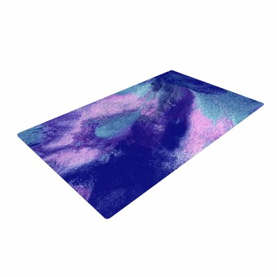 Ashley Rice AC4 Abstract Blue Area Rug