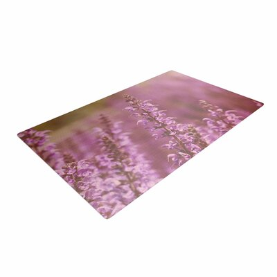 Angie Turner Growing Wild Lavender/Nature Area Rug