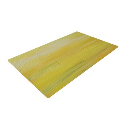 Cathy Rodgers Sunrise Yellow/Purple Area Rug Rug Size: 4 x 6