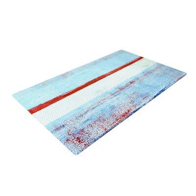 CarolLynn Tice Stripes Blue/White Area Rug