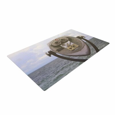Angie Turner Ocean View Blue/Gray Area Rug