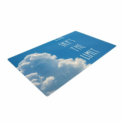 Bruce Stanfield the Skys the Limit Square Typography Nature Area Rug