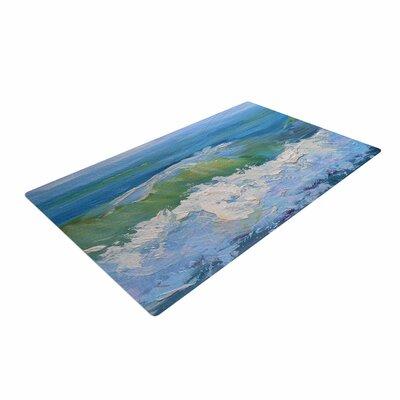 Carol Schiff the Pastel Sea Purple/Blue Area Rug