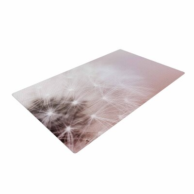 Chelsea Victoria Dandelion Dreams Floral White Area Rug Rug Size: 2 x 3