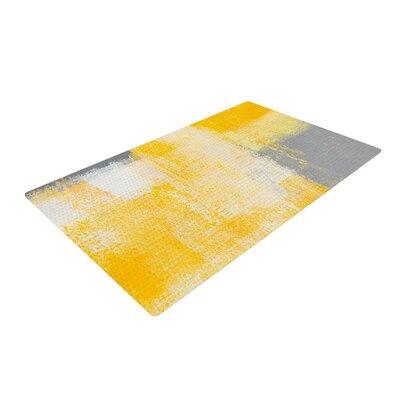 CarolLynn Tice Breakfast Grey/Gold Area Rug