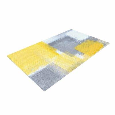 CarolLynn Tice Steady Yellow/Gray Area Rug