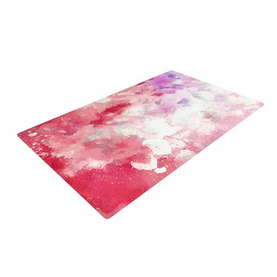 CarolLynn Tice Tannins Red/Pink Area Rug