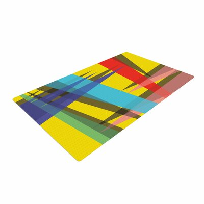 Bruce Stanfield Ambient 19 Yellow Blue/Red Area Rug