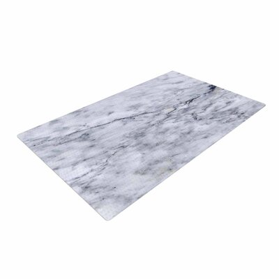 Chelsea Victoria Marble Blue/Black Area Rug
