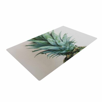 Chelsea Victoria the Pineapple Green/Gold Area Rug