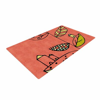 Carina Povarchik Be You Kids Coral Area Rug