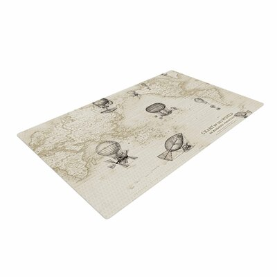 Catherine Holcombe the Southern Route Brown/White Area Rug