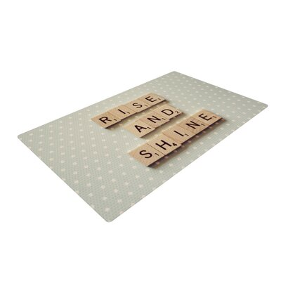Cristina Mitchell Rise and Shine Blue/Brown Area Rug