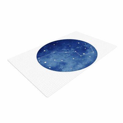 Chelsea Victoria Ursa Major Celestial Blue Area Rug