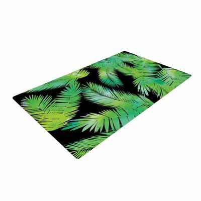Draper Tropic Green Black/Nature Area Rug