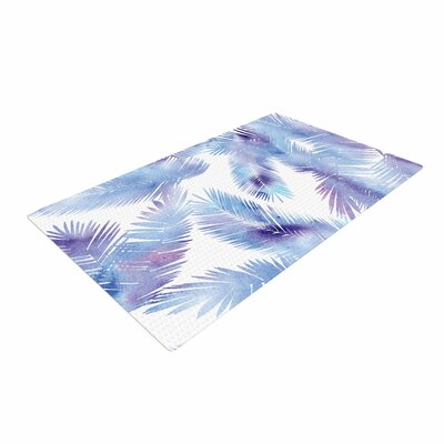 Draper Tropic Breeze Digital Blue Area Rug Rug Size: 4 x 6