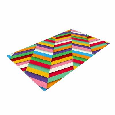 Danny Ivan Excuse Me Abstract Multicolor Area Rug