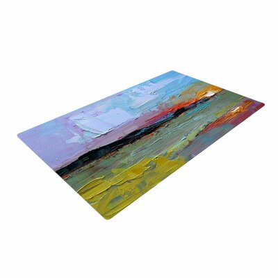 Carol Schiff Hues Painting Multicolor Area Rug