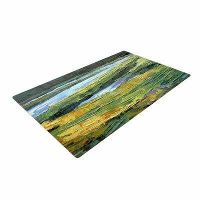 Carol Schiff Southern Marsh Green/Yellow Area Rug