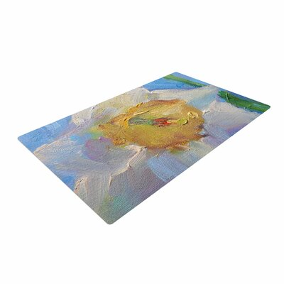 Carol Schiff Daffodil Day Yellow/Blue Area Rug