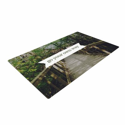 Chelsea Victoria Go Your Own Way Nature/Green Area Rug