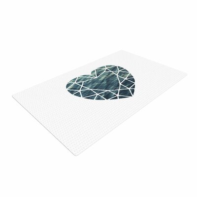 Chelsea Victoria Ocean Love Photography Blue Area Rug