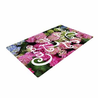 Chelsea Victoria Carpe That F Ing Diem Nature/Pink Area Rug